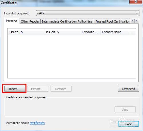 浏览器导入数字证书:[2]Chrome