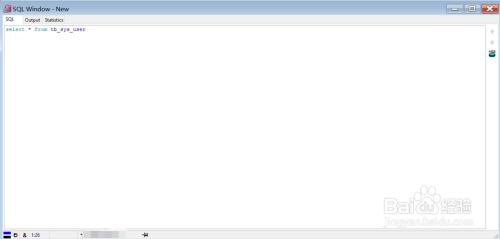 如何使用plsql查询oracle数据库中的某张表