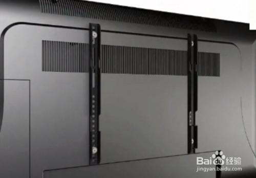 液晶电视怎么安装,挂墙?