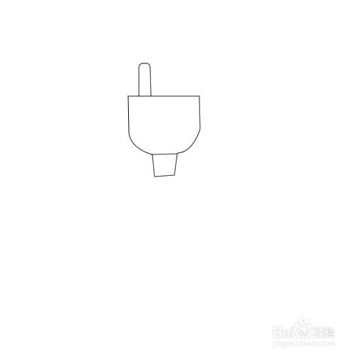 如何画电线插头简笔画