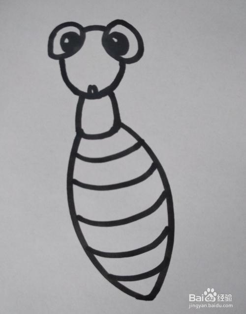 螳螂的简笔画怎么画