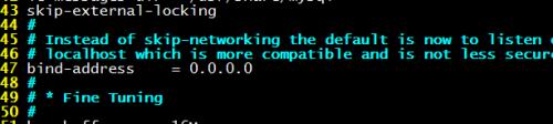 Linux系统MySQL开启远程连接