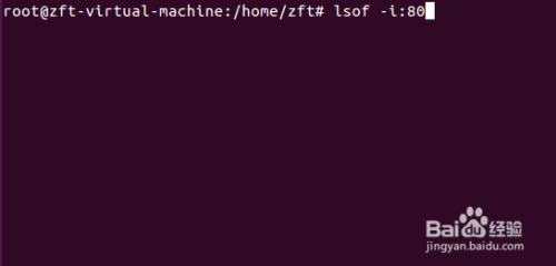 linux查看端口是否开放