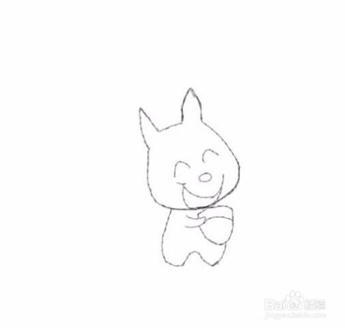 简笔画小松鼠是怎么画的