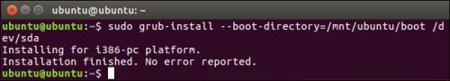 当Ubuntu无法启动时,如何修复GRUB2?