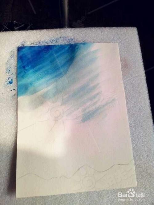 【创意水粉】唯美星空怎么画出来?