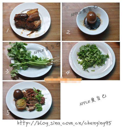 秘制卤肉饭饭