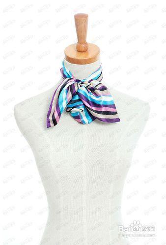 百变丝巾的系法_【百变丝巾】丝巾的系法图解(图片)-百度经验