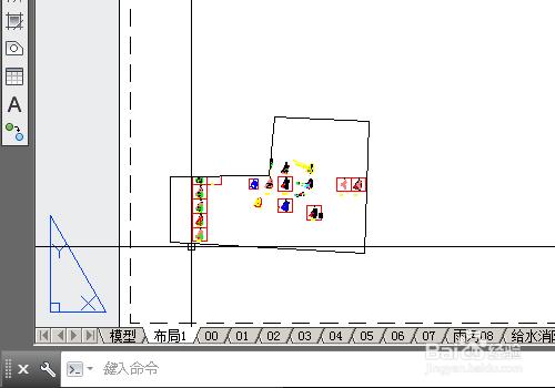 cad布局空间怎么用_cad怎么在布局中设置多边形视口-百度经验