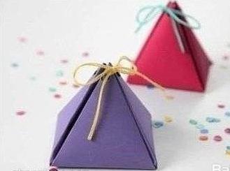 三角形盒子展开图_三角形包装盒DIY制作步骤带展开图-百度经验