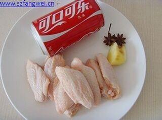 最简单的可乐鸡翅