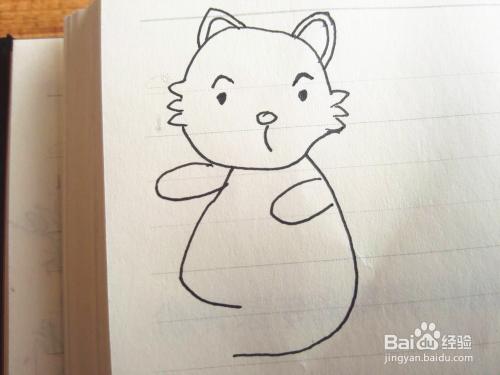 简笔画之小松鼠