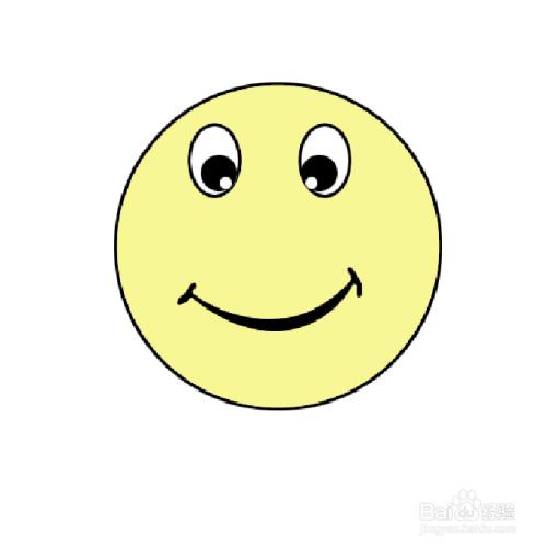 如何画笑脸简笔画