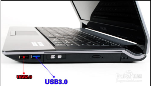 如何区分USB 2.0 和USB 3.0插口