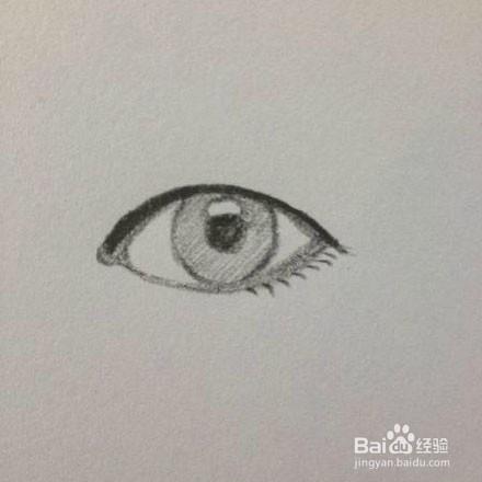 眼睛怎么画 眼睛简笔画画法步骤教程