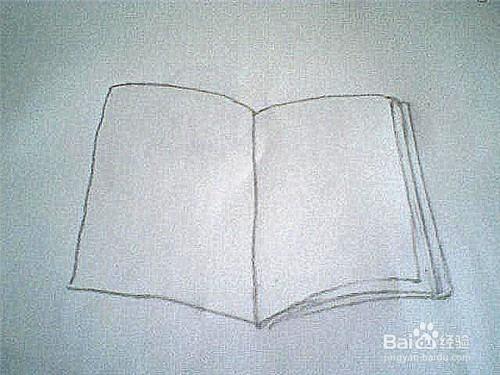 简笔画一本书