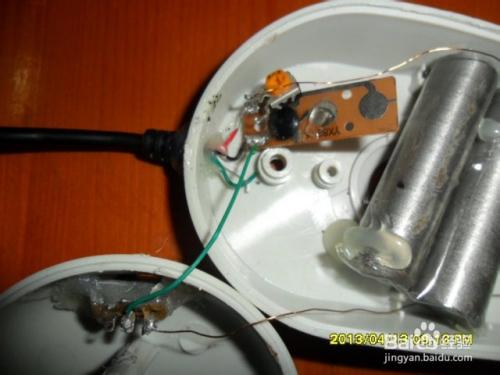 废物利用制作USB小台灯
