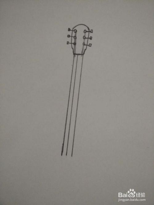 教你画吉他简笔画