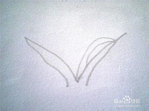 简笔画草的画法是这样的