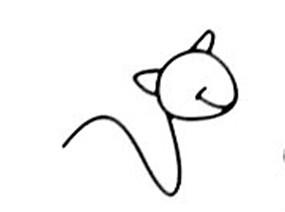简笔画大全 小金鱼和小骆驼绘画过程