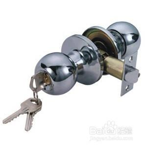 球形门锁坏了怎么拆_如何安装球形门锁、球形门锁安装方法-百度经验