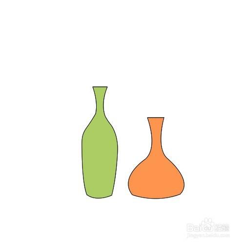 如何画花瓶简笔画