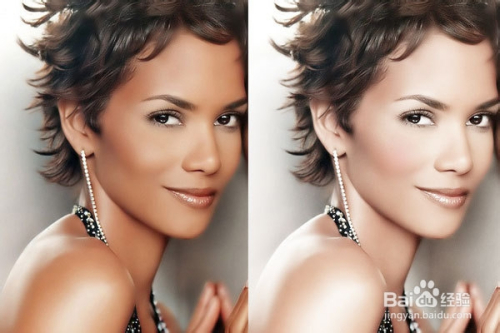 简单快速的美白方法_Photoshop实例教程:如何用ps快速对人物美白-百度经验