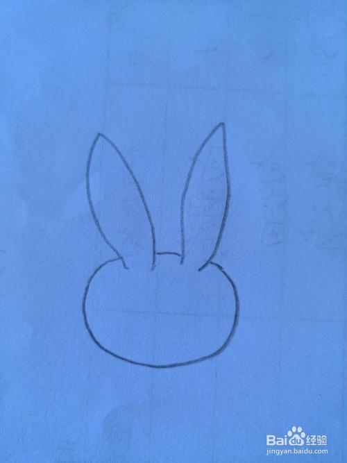 小白兔简谱画_画小白兔