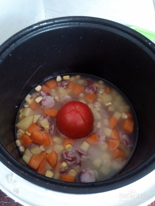 怎么做懒人整个西红柿饭