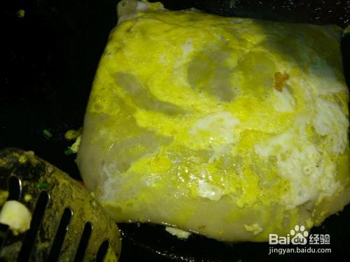 湖北名吃 老通城三鲜豆皮