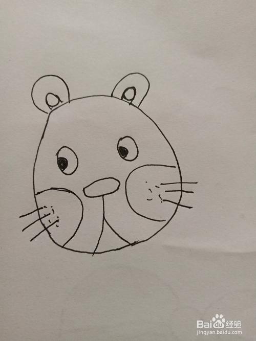 狮子的简笔画教程