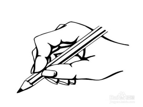 写字的手简笔画,人物简笔画大全,关于手的简笔画图片,怎么画写字的手简笔画图片,可可简笔画教程,教你学画写字的手简笔画法,手握铅笔的简易画法.