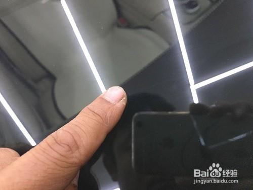 汽车前挡风玻璃修复全过程