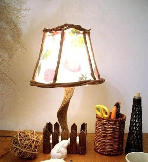 手工制作台灯的方法_DIY手工制作台灯和手工制作灯罩教程-百度经验