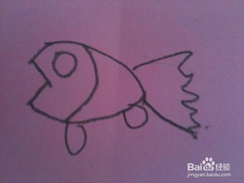简笔画小鱼儿只需五步