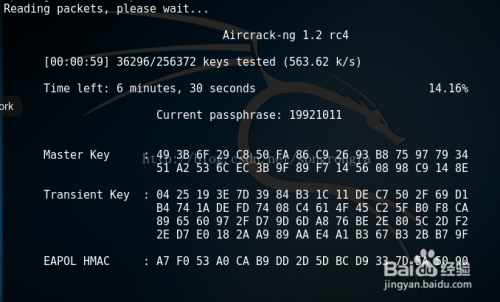 kali linux wifi 破解