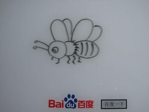 儿童简笔画 小蜜蜂