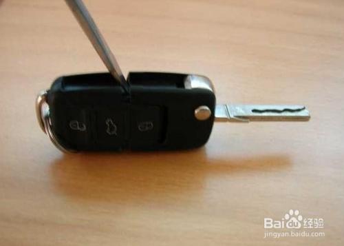 奔驰钥匙怎么换电池_速腾车钥匙怎么换电池-百度经验