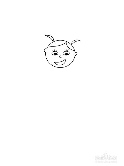 六一快乐简笔画方法