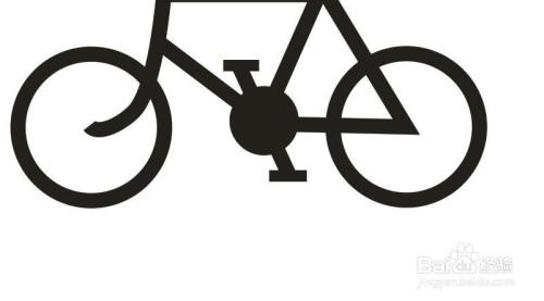 如何用CorelDRAW绘制一个自行车的标志 简笔画