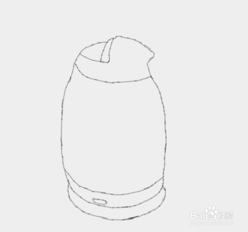 简笔画电热水壶是怎么画的