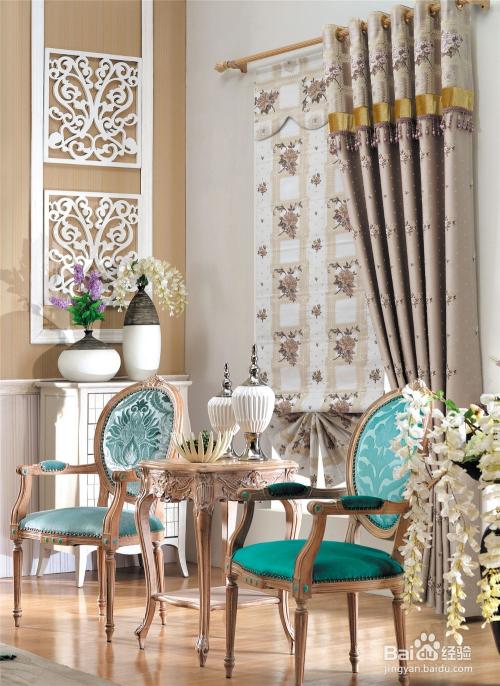 不同风格的窗帘与布艺的搭配技巧