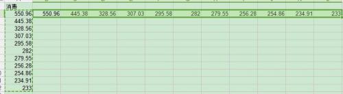 Excel小技巧--如何把一列数据变成一行?