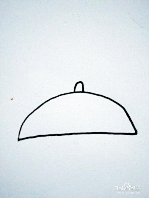 雨伞的简笔画