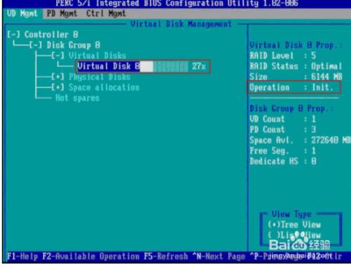 DELL 服务器配置Raid的步骤