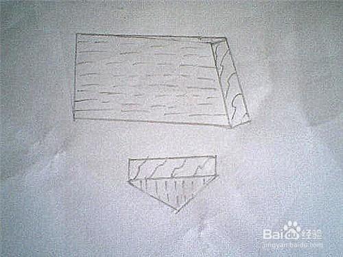 简笔画木头板子