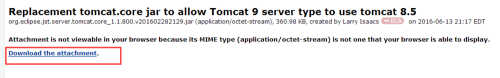 eclipse配置tomcat8.5(注意是8.5)
