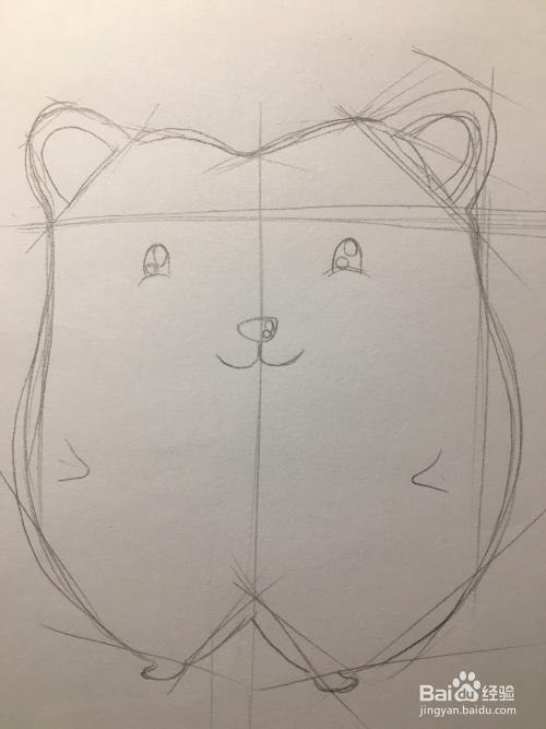 画一只可爱的小刺猬 刺猬简笔画 动物绘画