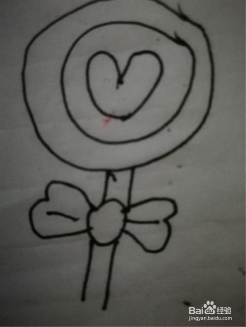 怎么样用简笔画画画糖果玩具
