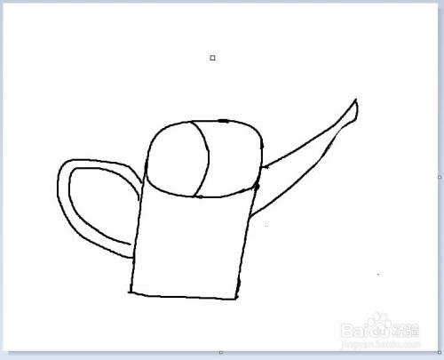 简笔画之画一只水壶